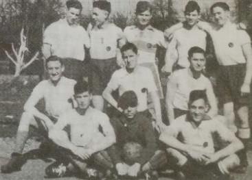 Die Handball-A-Jugend 1938. V.l.n.r.: